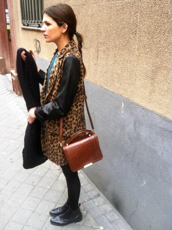 leopard sensitive to beauty